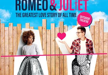 Romeo and Juliet outdoor performance poster
