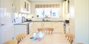 Kitchen at The Salty Dog, self catering holiday cottage in Camber, East Sussex.