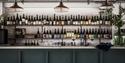 Bar at Tillingham Wines, Peasmarsh, East Sussex