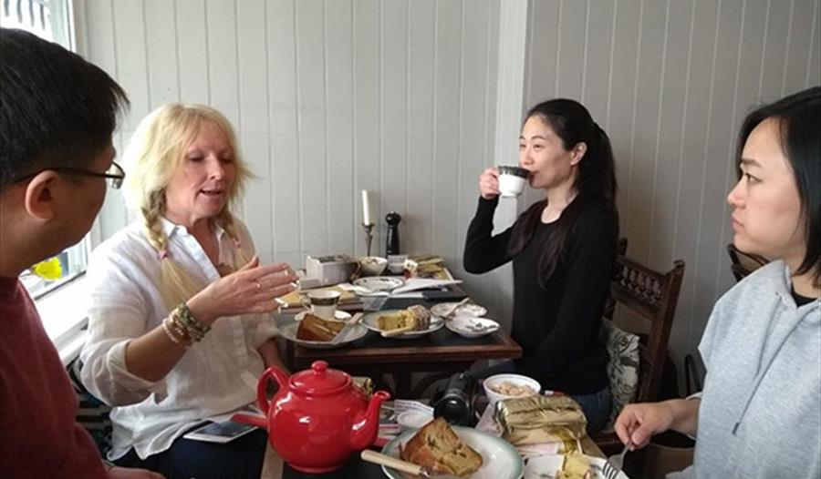 tea and deportment