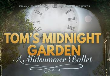 Tom's Midnight Garden ballet at King John's Nursery in Etchingham, East Sussex