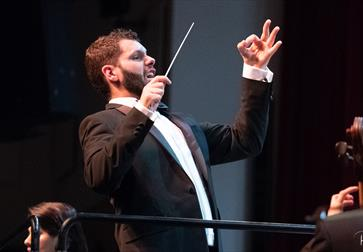 Conductor of the Hastings Philharmonic Orchestra - East Sussex