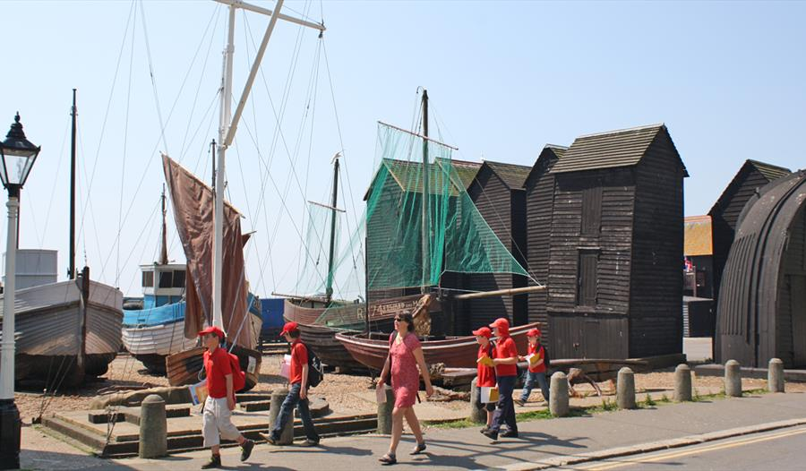 Fishing nets huts - Hastings East Sussex
