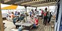 Cafe, Cafe Rye, Rye Watersports , SUP, Windsurf, Kyak, Family Fun