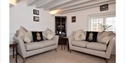 Lounge at Clare Cottage in Brede, East Sussex