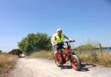 eBike hire at Camber Sands, East Sussex