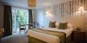 garden room  at Flackley Ash Hotel East Sussex
