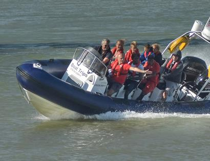 Full Throttle Boat Charters in Rye, East Sussex