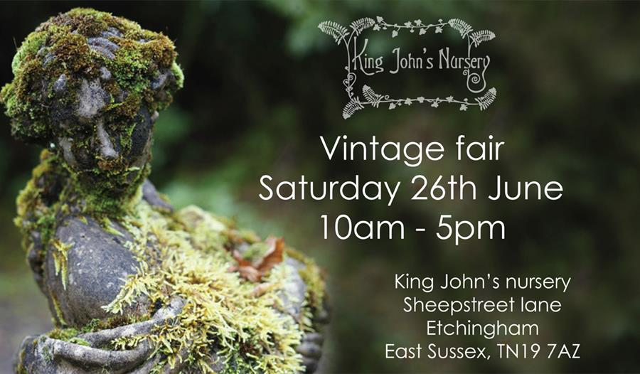 Vintage fair at King John's nursery