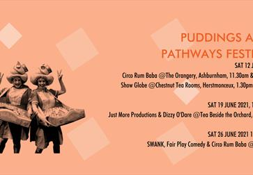 Puddings and Pathways 26th June @ High Street and Kino, Rye