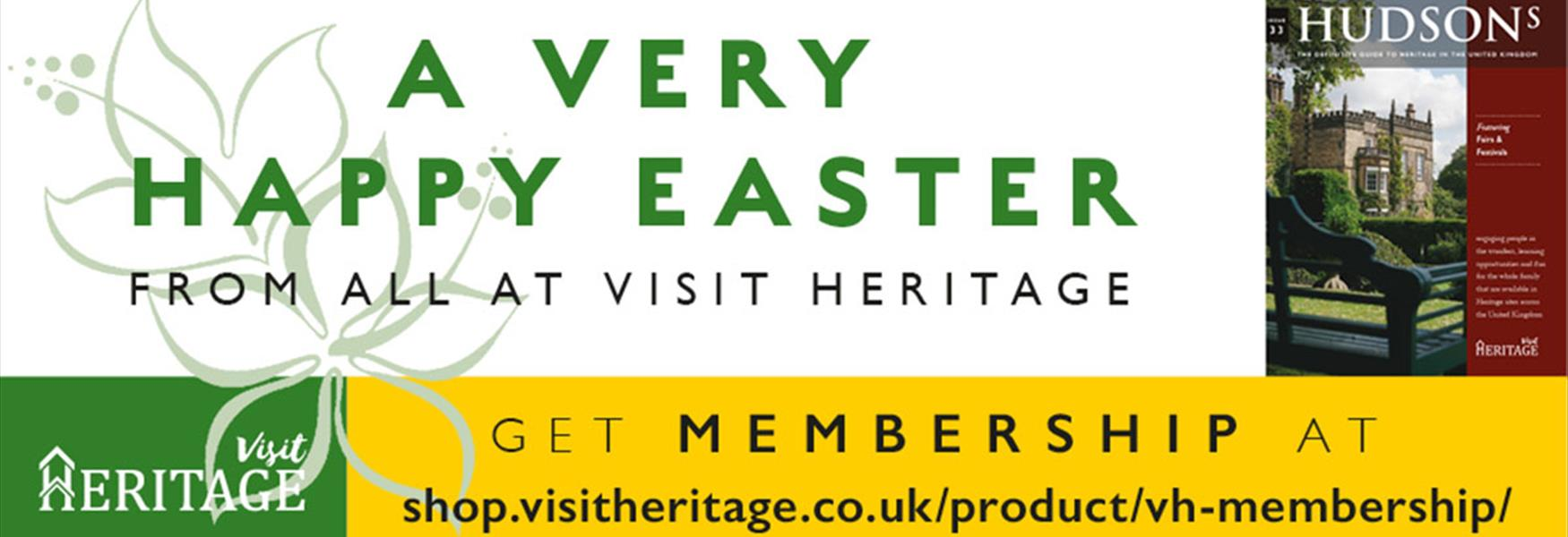 Happy Easter from Visit Heritage