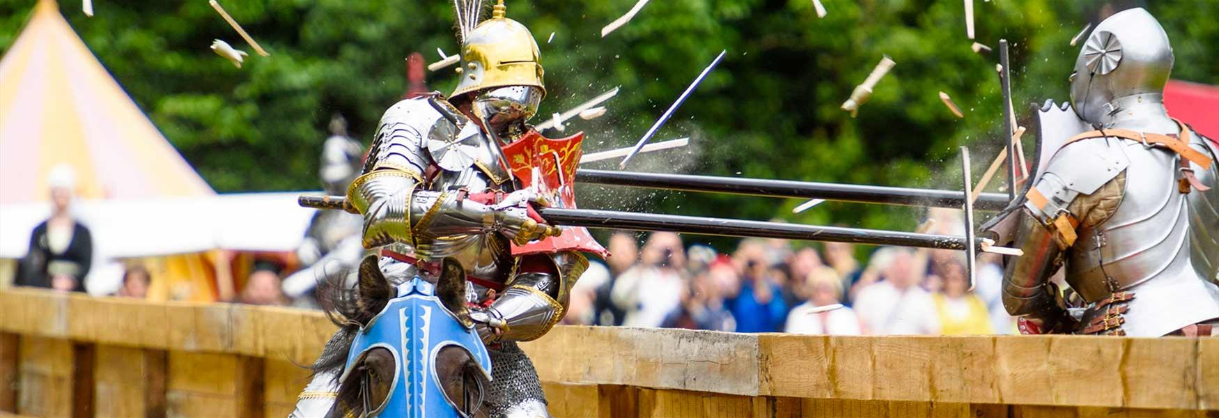 Knights Jousting