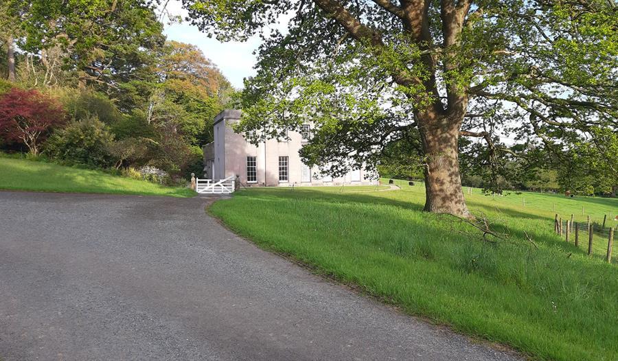 Entrance to Hemerdon House