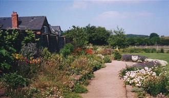 Abbey Dore Court Garden