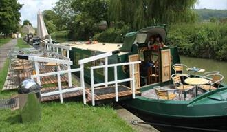 Cafe on the Barge