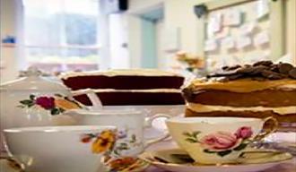 Cakes at the Polkadot Teapot