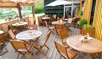 Tea Garden at Comrie Croft