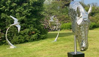 Sculpture at Beaulieu Evening