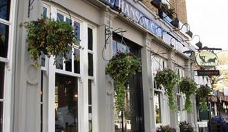 The Hansom Cab Frontage