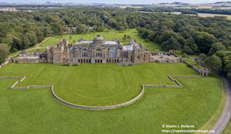 gosford house from above