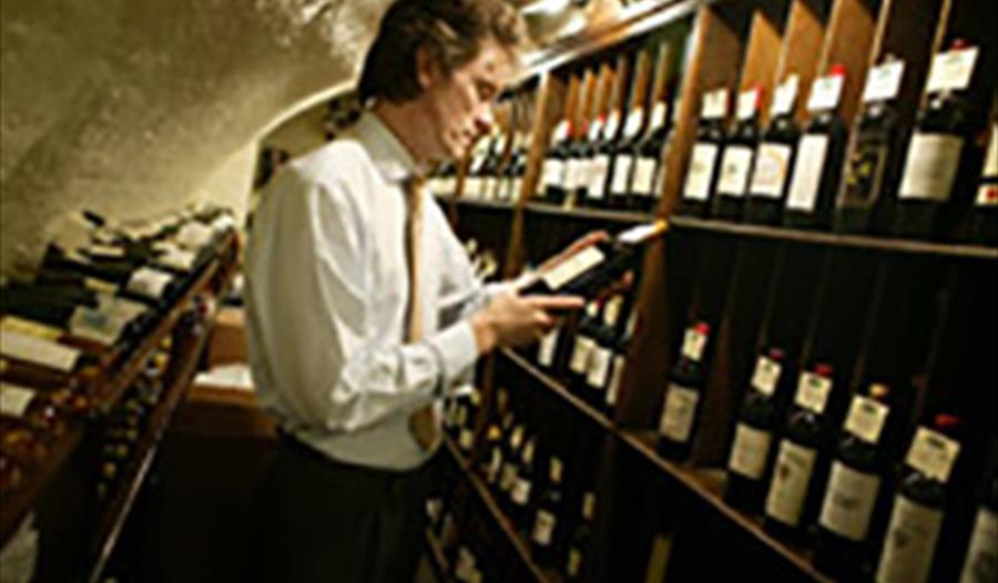 The Wine Library Cellar
