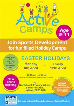 Active Camps Easter 2019