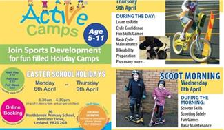 Active Camps Easter Half Term 2020