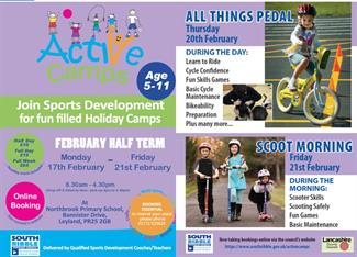 Active Camps February 2020