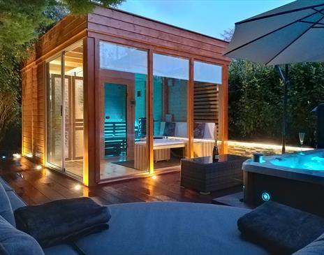 Hillingford B&B garden spa facilities