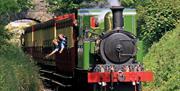 Steam Railway arriving in Castletown