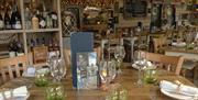 dining room, the round table, interior design, boatyard, inviting, seafood, specials, coastal, peel
