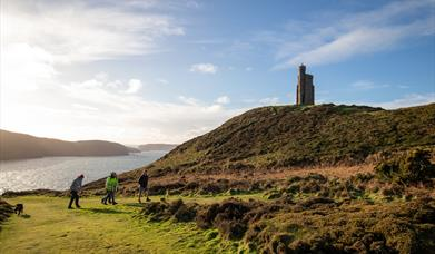 Bradda Glen and Milner's Tower
