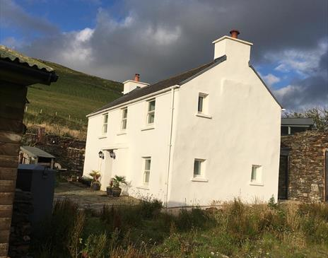 Small refurbished manx cottage in remote setting of a nature reserve