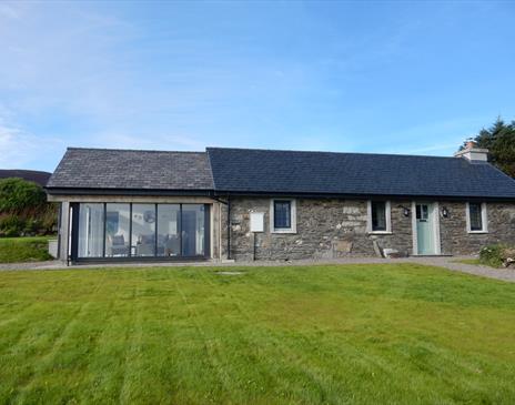 Original Manx cottage with stunning sunroom