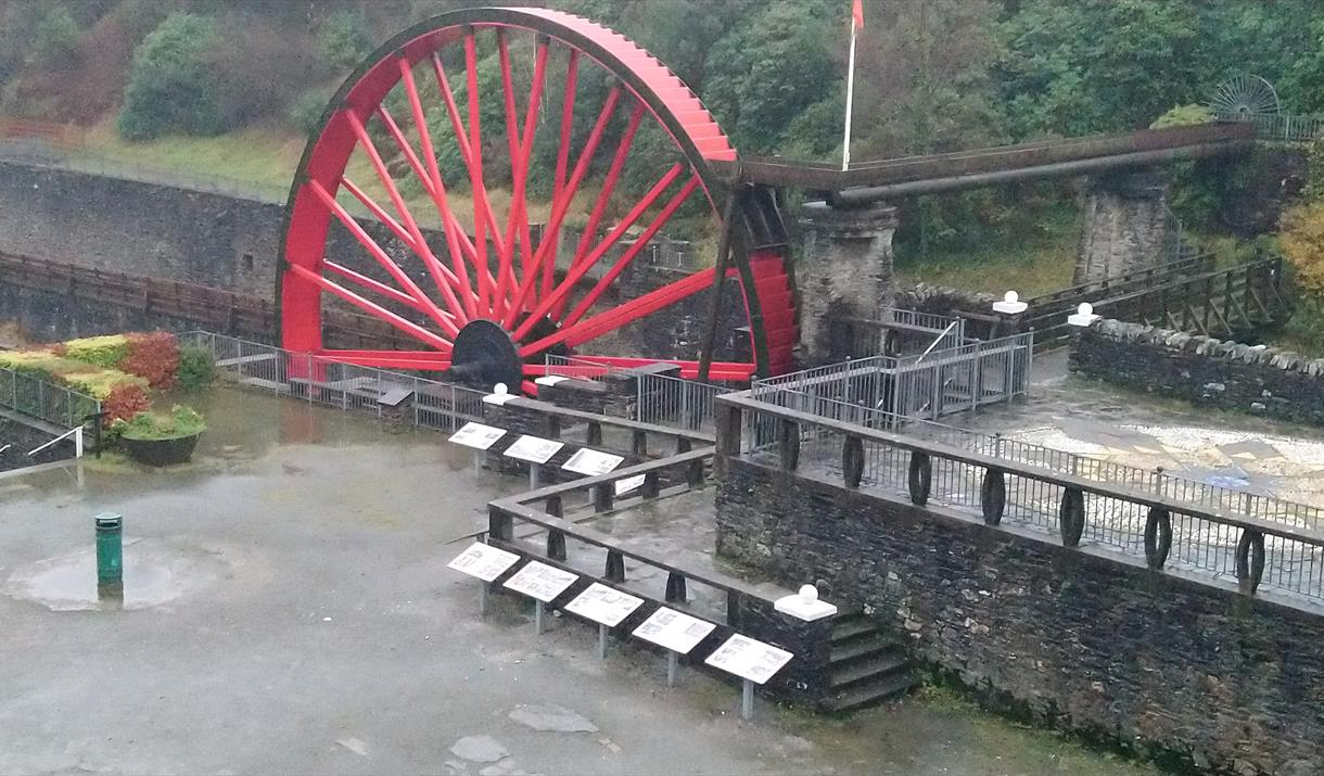 Snaefell Wheel and Washing Floors