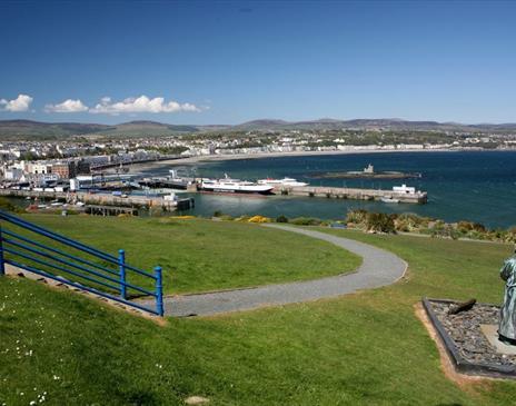 Douglas Head with views of Douglas Bay