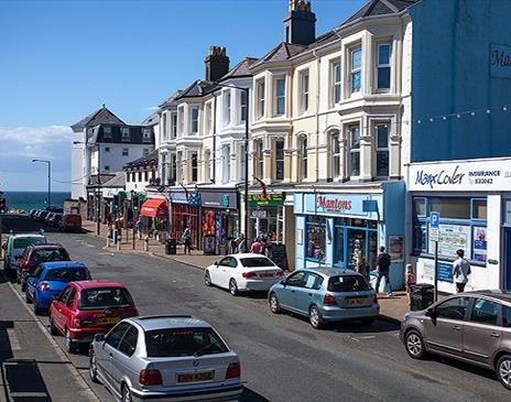 Port Erin High Street