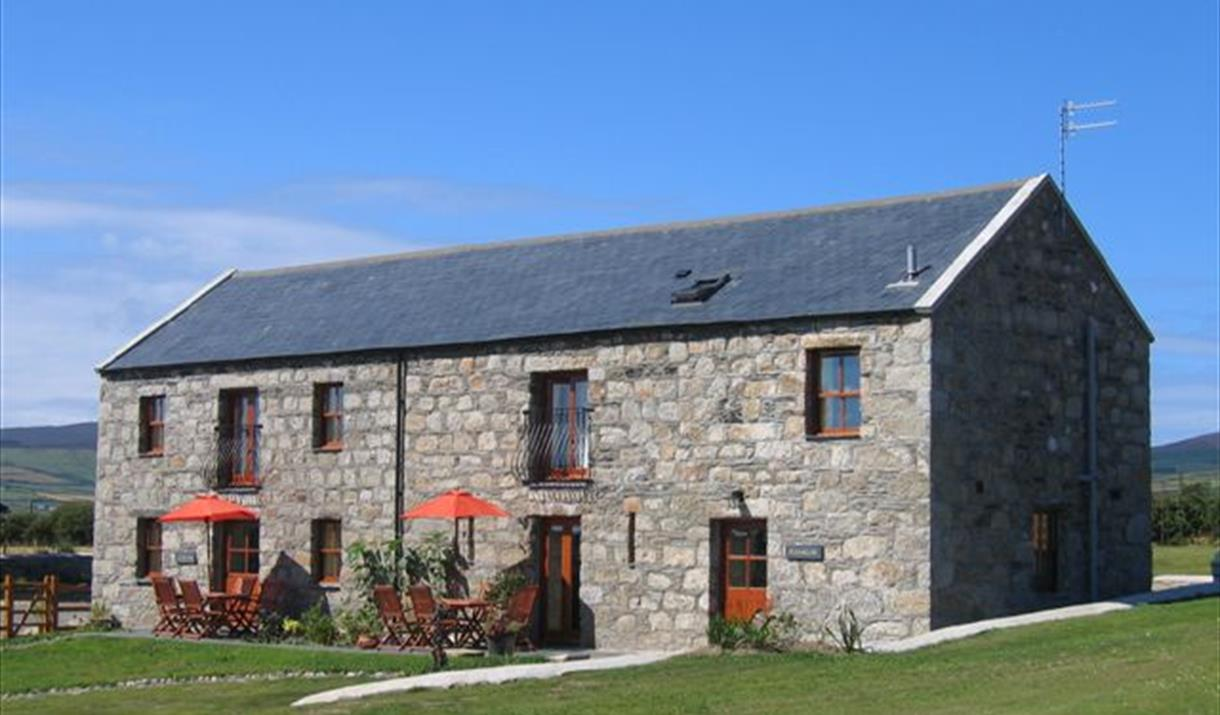 Ballachrink Barn Cottages front view