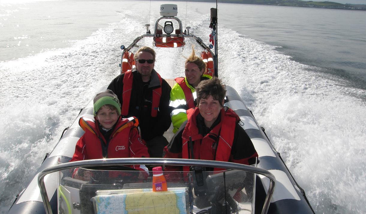 Isle of Man & Calf Boat Trips- Vagabond Charter