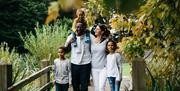 Family walks around the Abbey gardens
