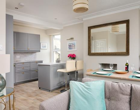 Holiday cottage at Port Erin beach Isle of Man. Dog friendly and sleeps six