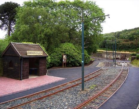Manx Electric Railway - Dhoon Glen Station