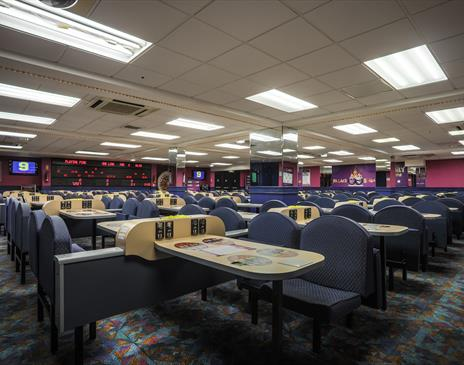 Isle of Man bingo slots casino bar cafe