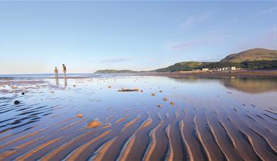 Sandy beach at Ramsey