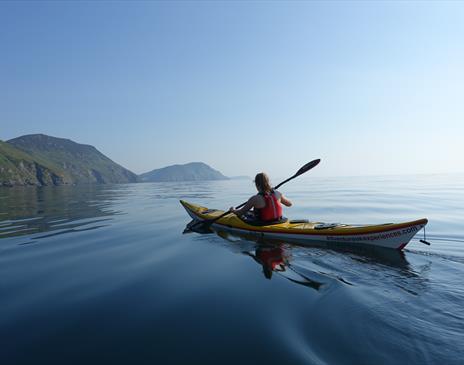 Sea Kayaking around the Isle of Man coast