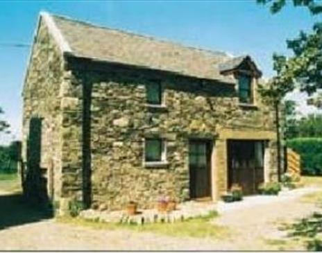 Front view of Soalt Beg Cottage