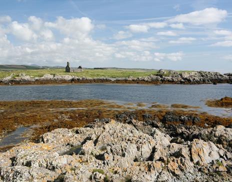 Fort Island, St Michael's Isle Chapel