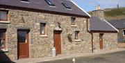 The Stables, our 6 person cottage on the west coast of the Isle of Man, on our working Manx farm