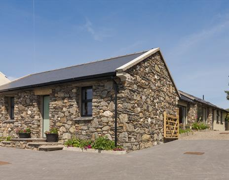 Surby Croft Holiday Cottage front view