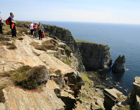 Walkers at The Chasms